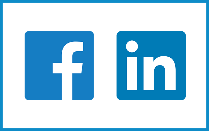We are now on social media Facebook and Linkedin