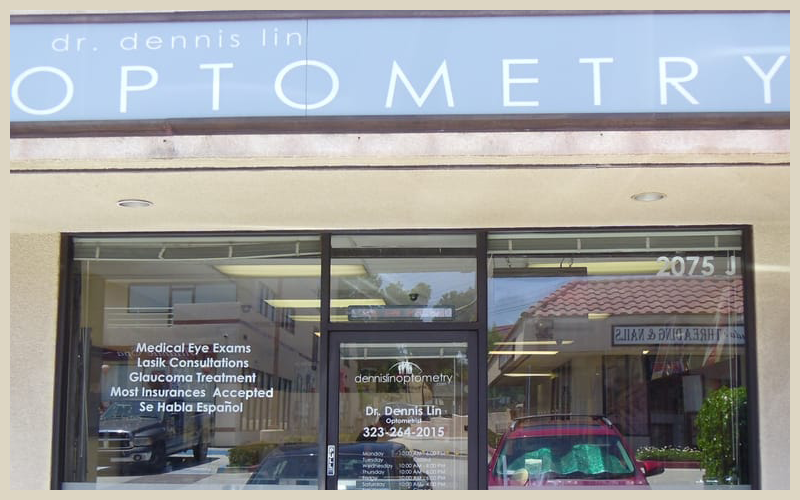 Welcome to Dennis Lin Optometry of Monterey Park, CA