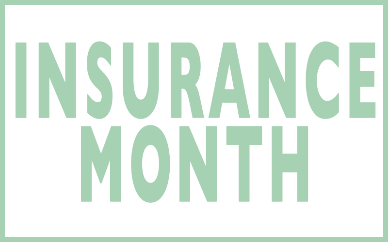 December is Insurance Month