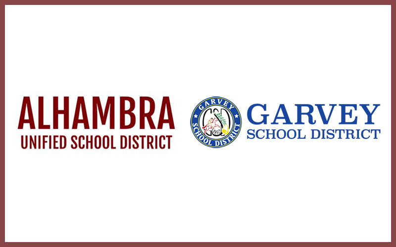 Helping out the Alhambra and Garvey School District