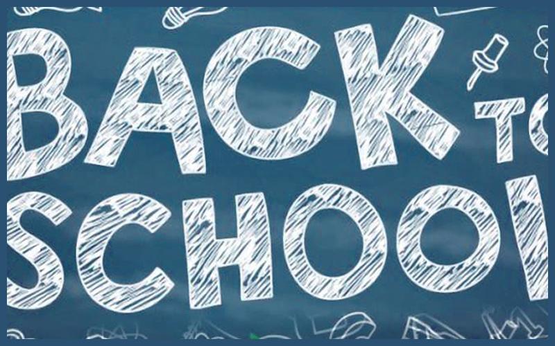 Back to School is around the corner - examinations.