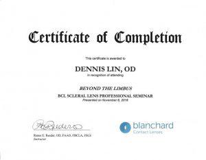 Blanchard Contact Lenses - BCL Scleral Lens Professional Seminar