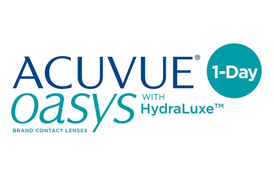 Oasys Acuvue Hydraluxe 1 Day Contacts