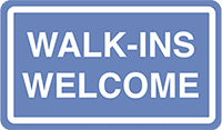 Walk-ins are welcome at Vista Optometric Group