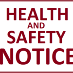 Health and Safety Notice